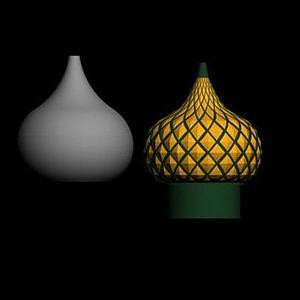 伊斯兰屋顶模型