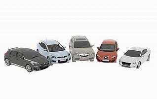 3d雪铁龙马自达汽车合集模型