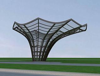 城市小品3d模型