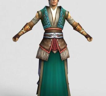 游戏人物角色天枫