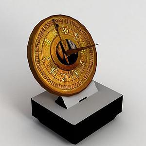 游戏指南针模型