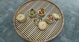 食物小笼蒸包模型