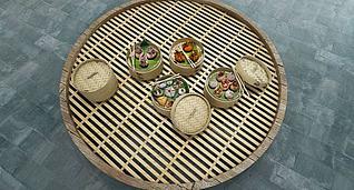 3d食物小笼蒸包模型