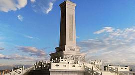 人民英雄纪念碑模型