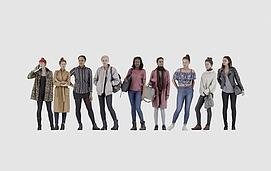 时尚美女合集模型