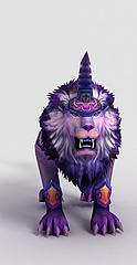 游戏角色凌烈狮模型3d模型