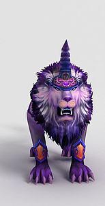 3d<font class='myIsRed'>游戏角色</font>凌烈狮模型