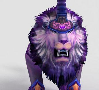 游戏角色凌烈狮