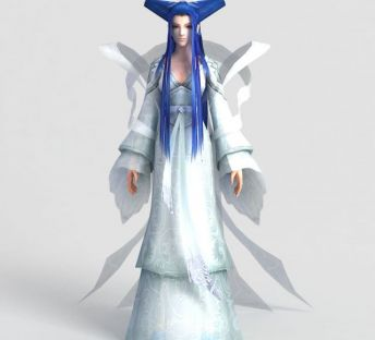游戏人物角色冰仙子