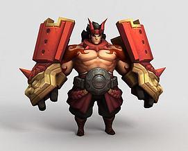 王者荣耀hero模型
