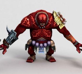 游戏角色三目巨人