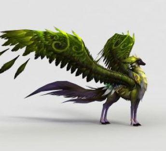 飞骑绿焰狐
