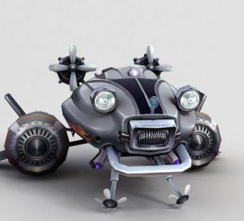 神魔坐骑机械飞行器