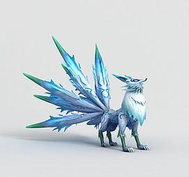 九尾妖狐模型