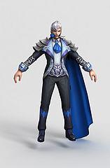 王者荣耀hero模型3d模型