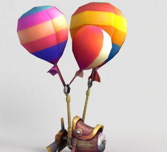 神魔坐骑飞骑气球