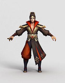 3d王者荣耀hero模型
