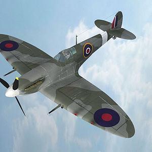 飛機模型3d模型