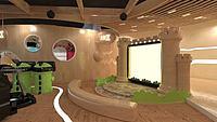 室内儿童乐园场景3d模型