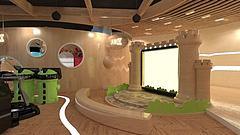 室内儿童乐园场景模型3d模型