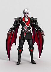 王者荣耀人物角色模型3d模型