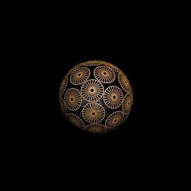球型编织模型