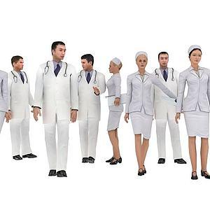 医生护士模型