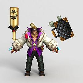 王者荣耀游戏角色模型