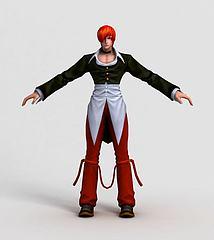 王者荣耀游戏角色模型3d模型