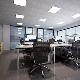 3d办公室<font class='myIsRed'>办公桌</font>模型