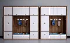 新中式衣柜装饰柜模型3d模型