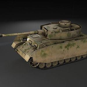 坦克模型3d模型