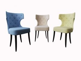 美式餐椅模型