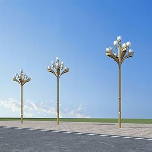 芙蓉路灯模型