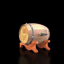 恒温酒桶模型