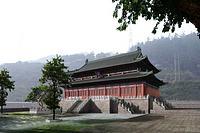 中式古建外观3d模型