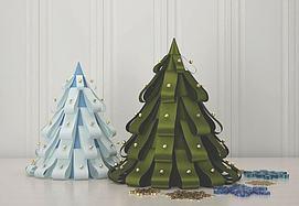 圣诞树圣诞节模型