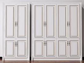 欧式简欧酒柜美式装饰柜模型