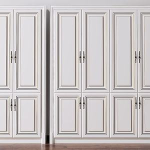 歐式簡歐酒柜美式裝飾柜模型3d模型