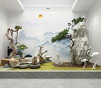 園藝小景3d模型