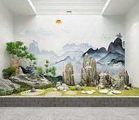 園藝景觀3d模型