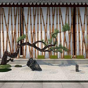 园艺小品园林景观模型