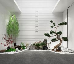 3dmax园林景观园艺小品模型3d模型