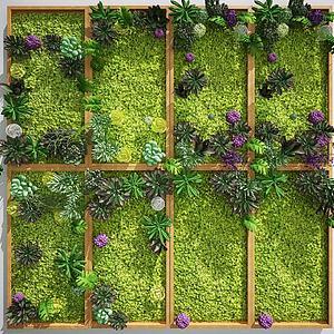 植物墙绿植墙景观?#20132;?#21321;模型
