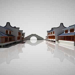 中国古建筑?#20540;?#33590;楼建筑模型