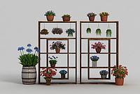 植物装扮3d模型