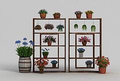 植物装扮模型3d模型