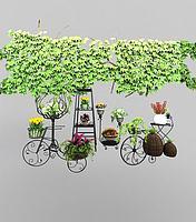 植物藤蔓3d模型