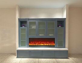 壁炉柜模型