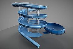 幼儿游乐园游乐设施模型3d模型